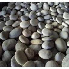 Декоративный, природный, натуральный камень, галька / River flat pebbles / Турция / 5- 10 см.